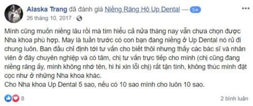 Nha khoa Up Dental 02 Võ Oanh Bình Thạnh có tốt không?