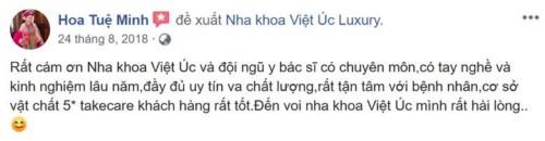 Nha khoa Việt Úc Luxury - 12 Điện Biên Phủ Ba Đình có tốt không?