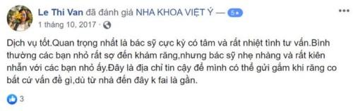 Nha khoa Việt Ý - 20 Trần Kim Xuyến Cầu Giấy có tốt không?