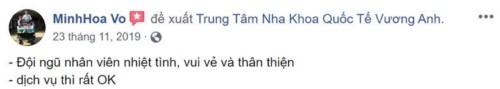 Nha khoa Vương Anh - 11 Lê Văn Việt Quận 9 có tốt không?