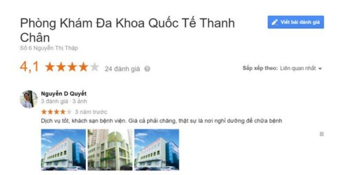 Phòng khám Đa khoa Quốc tế Thanh Chân 06 Nguyễn Thị Thập có tốt không?