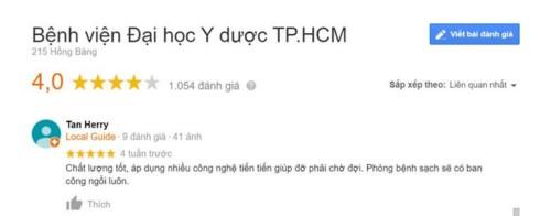 Khoa Răng Hàm Mặt Bệnh viện Đại học Y Dược TPHCM có tốt không?