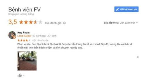 Khoa Răng Hàm Mặt Bệnh viện FV - Quận 7 có tốt không?