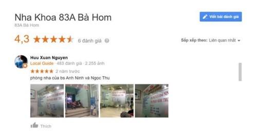 Nha khoa Bà Hom - 83A Bà Hom Quận 6 có tốt không?