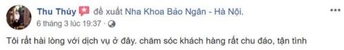 Nha khoa Bảo Ngân - 170 Khương Đình Thanh Xuân có tốt không?