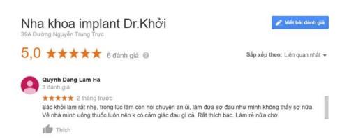 Nha khoa Dr. Khởi - 39A Nguyễn Trung Trực Quận 1 có tốt không?