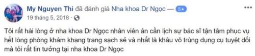 Nha khoa Dr.Ngọc - 652 Lê Hồng Phong Quận 10 có tốt không?