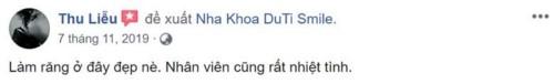 Nha khoa Duti Smile - 532 Đường 3/2 Quận 10 có tốt không?