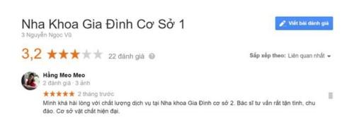 Nha khoa Gia Đình - 03 Nguyễn Ngọc Vũ Cầu Giấy có tốt không?