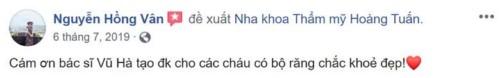Nha khoa Hoàng Tuấn - 1/487 Hoàng Quốc Việt Cầu Giấy có tốt không?