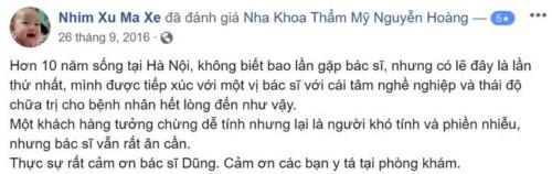 Nha khoa Nguyễn Hoàng - 204H Đội Cấn Ba Đình có tốt không?