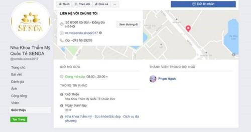 Nha khoa Senda - 8/360 Xã Đàn, Đống Đa có tốt không?