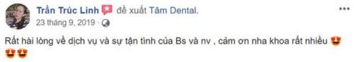 Nha khoa Tâm Dental số 58 Đường số 6, Khu DC Cityland Garden Hills, Gò Vấp có tốt không 17