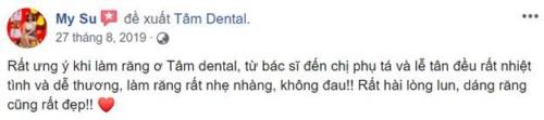 Nha khoa Tâm Dental số 58 Đường số 6, Khu DC Cityland Garden Hills, Gò Vấp có tốt không 19