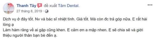 Nha khoa Tâm Dental số 58 Đường số 6, Khu DC Cityland Garden Hills, Gò Vấp có tốt không 20