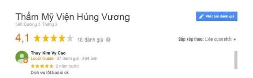 Nha khoa thẩm mỹ Hùng Vương - 566 Đường 3/2 Quận 10 có tốt không?