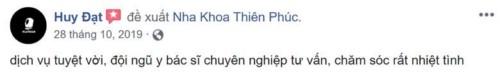 Nha khoa Thiên Phúc - 1087 Nguyễn Ảnh Thủ Quận 12 có tốt không?