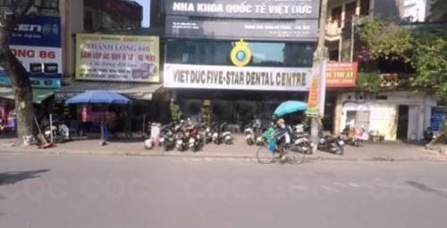 Nha khoa Việt Đức điều trị tủy răng uy tín