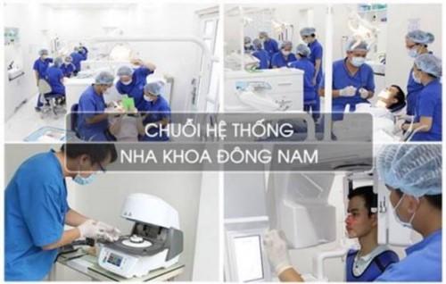Đội ngũ bác sĩ Nha khoa Đông Nam