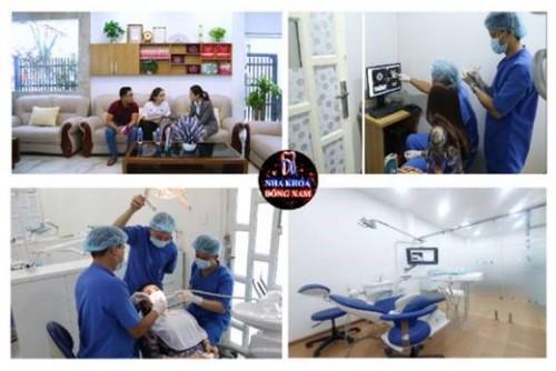 Đội ngũ bác sĩ cơ sở vật chất Nha Khoa Đông Nam