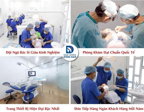 Nha Khoa Đông Nam địa chỉ cấy ghép răng Implant tốt nhất quận 10