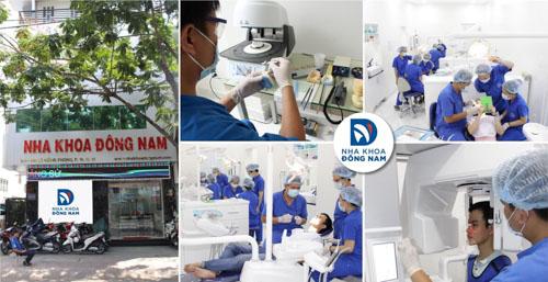 Nha Khoa Đông Nam địa chỉ điều trị viêm tủy răng uy tín nhất quận 10