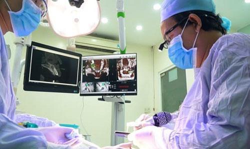 Nha khoa Nhân Tâm ứng dụng công nghệ định vị cấy ghép Implant