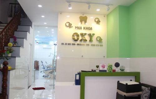Nha khoa Oxy Hóc Môn