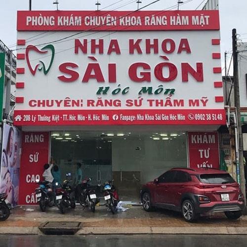 Nha khoa Sài Gòn Hóc Môn