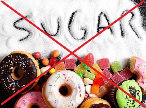 Tránh dùng món ngọt nhiều đường