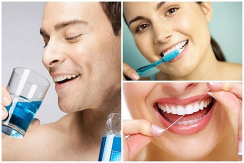 Chải răng sứ đúng cách
