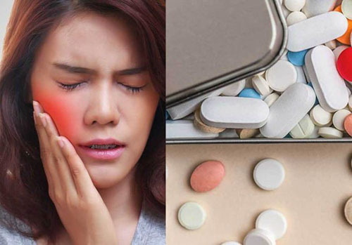 Uống thuốc giảm đau theo chỉ định bác sĩ