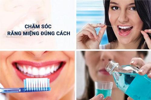 Duy trì cách cách chăm sóc răng sứ