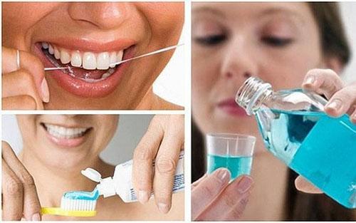 Chăm sóc răng sứ sạch sẽ