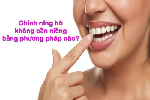 Chỉnh răng hô không cần niềng bằng phương pháp nào?