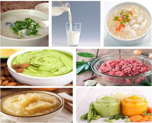 Ưu tiên ăn các món được chế biến mềm, dễ nhai nuốt